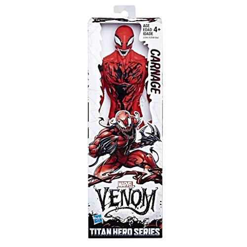 Hasbro Marvel Venom Titan Hero Carnage Series Figure 30cm