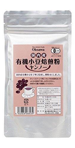os-domestique-farine-biologique-de-torrfaction-adzuki-bean-yanno-100g-th-de-haricots-rouges