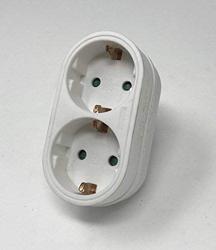 Preisvergleich Produktbild Bayram schuko Gummikupplung Gummistecker Stecker Set Neu nach Auswahl (1x Stecker)