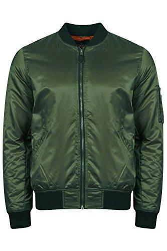 Tokyo Laundry Herren Steppjacke Jacke grün grün Amazon Khaki - Green