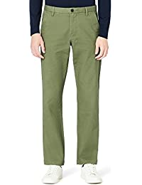 MERAKI Cotton Regular Fit Chino, Pantalon Homme