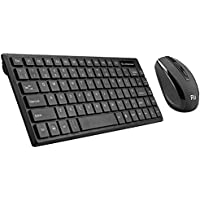 Rii RK700 2.4Ghz Wireless Keyboard Mouse Combo UK Layout For PC Laptop Raspberry Pi 1 2 3 Mac IOS Linux HTPC IPTV Google Android TV Box XBMC KODI Windows 2000 XP Vista 7 8