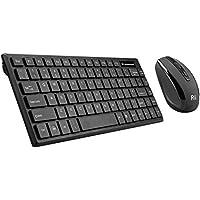 Rii RK700 2.4Ghz Wireless Keyboard Mouse Combo UK Layout For  PC Laptop Raspberry Pi 1 2 3 Mac IOS Linux HTPC IPTV Google Android TV Box XBMC KODI Windows 2000 XP Vista 7 8