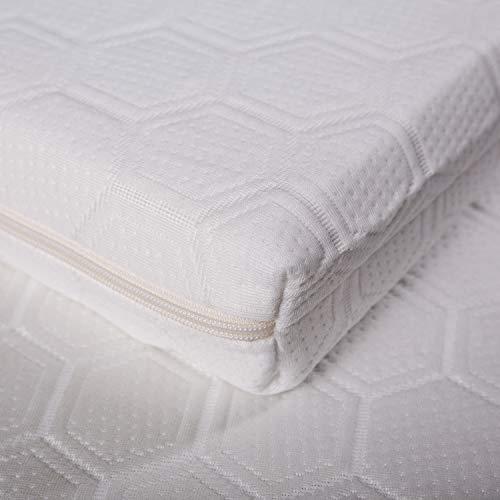 Wendre Matratzenauflage & Topper - 140x200 | Langlebig, Zertifiziert & Pflegeleicht | Komfortabler 7cm Matratzentopper aus Kaltschaum für eine weiche, Feste und entlastende Unterstützung