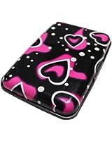 Aluminum Metal Waterproof Pocket Business ID Credit Card Wallet Holder Case Box Heart Pattern