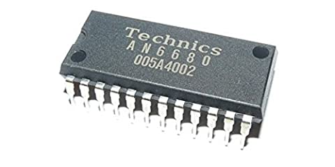 Puce IC circuit intégré de contrôle TECHNICS AN6680 pour platine vinyle Panasoni Technics SL-1200 SL-1210 MK2/3/5