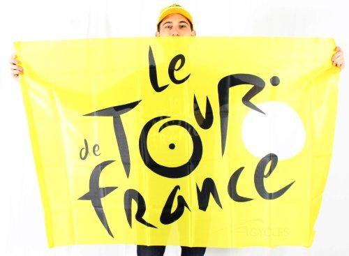 HOLISPORT Jungen Tdf-DP-002 J TU Flagge, Gelb (Tour De France Flag)