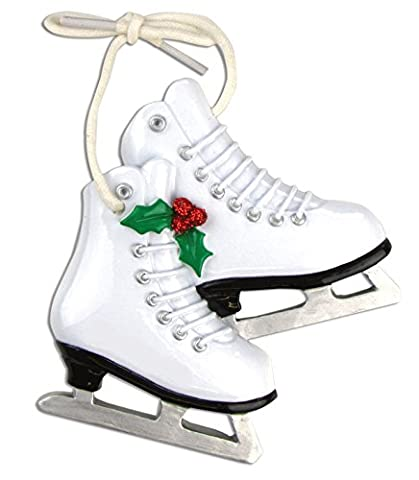 Décoration de Noël personnalisée sports-figure Patins - WE CUSTOMIZE for you