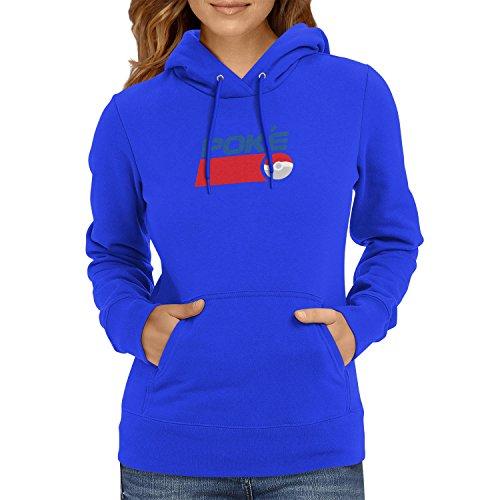 TEXLAB - Poke Soft Drink - Damen Kapuzenpullover, Größe L, (Pepsi Kostüm Mann)