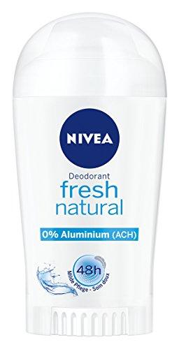 NIVEA Deo-Stift für Frauen, Ohne Aluminium, Deo-Schutz, 40 ml Stick, Fresh Natural