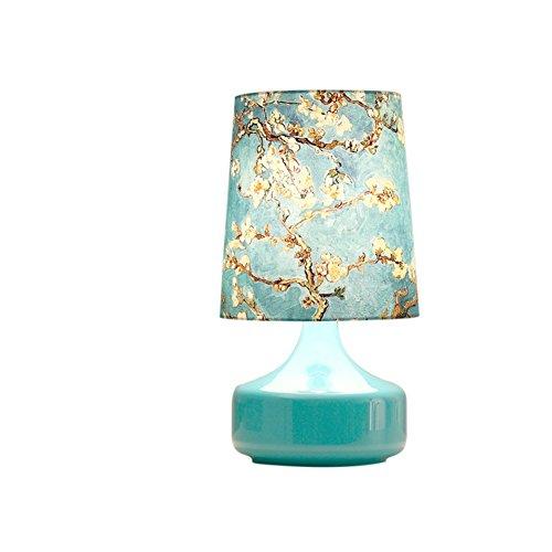 lampada da comodino occhio creativo/ Nordic camera da letto luce/Salotto moderno e semplice panno decorativo lampada-A