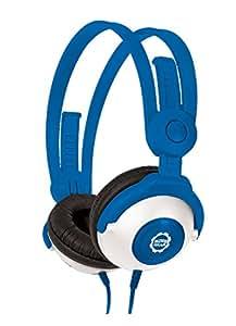 Kidz Gear CH68KG04 Casque audio avec Limiteur de son pour Enfant Bleu
