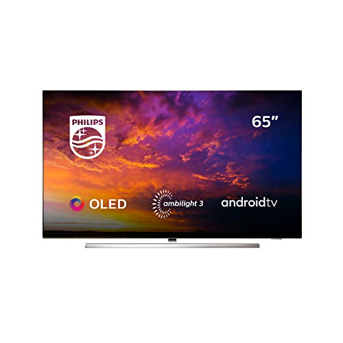 Oferta de Philips 65OLED854/12 - Televisor Smart TV OLED 4K UHD, 65 pulgadas, Android TV, Ambilight 3 lados, HDR10+, Dolby Vision, Google Assistant, compatible con Alexa, color gris