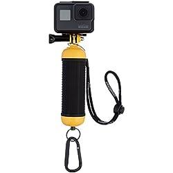 AmazonBasics Poignée flottante étanche pour caméras GoPro