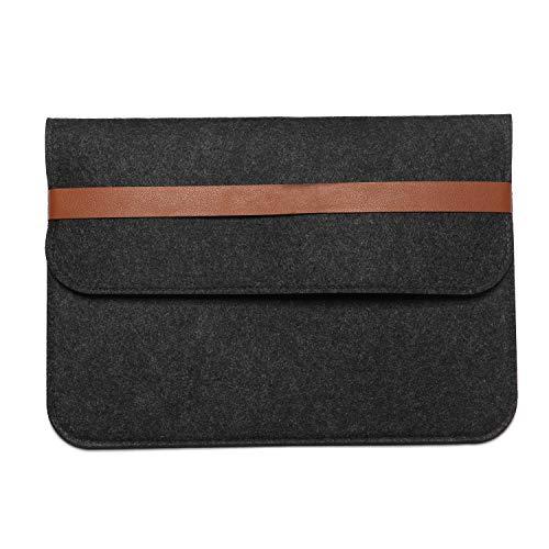 Therm La Mode Filzhülse 12/13.3/15.4 Zoll Wolle Laptop Schutzhülle Schutzhülle mit modernem Design-Design Apple MacBook Pro Retina Doppel-Pakete -