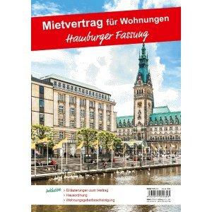10 x RNK Mietvertrag für Wohnraum Hamburger Fassung 12 Seiten gefalzt auf A4