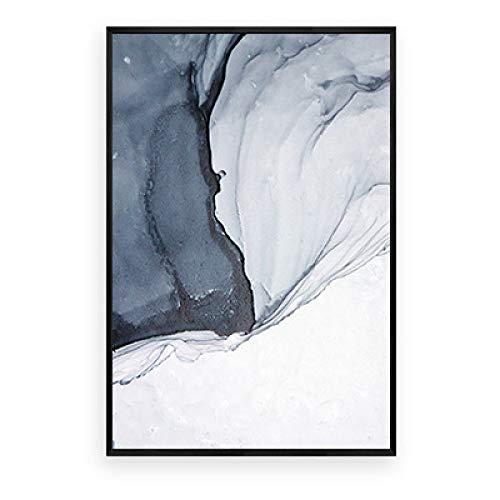 st Wohnzimmer dekorative malerei Sofa Hintergrund ölgemälde modernen minimalistischen Stil triptychon kreative nordische wandmalerei sonniges Leben A 60 * 80cm ()