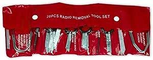 20 Tlg Einbau Ausbau Werkzeug Satz Für Radio Navi Montage Demontage Nadel Auto