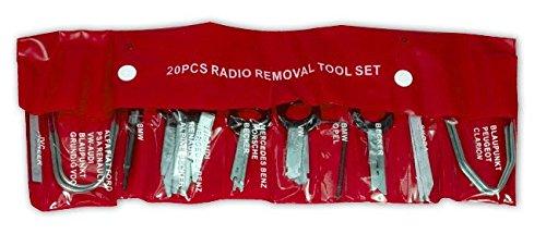 Preisvergleich Produktbild 20 tlg Einbau Ausbau Werkzeug Satz für Radio Navi Montage Demontage Nadel