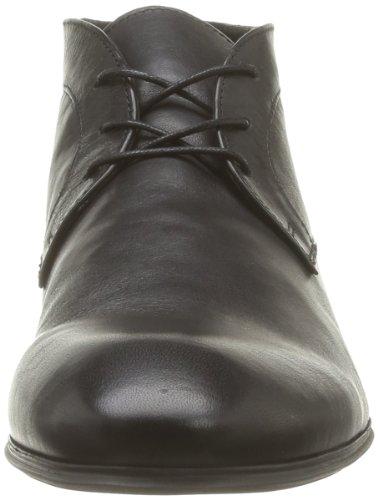 Hudson Thursom, Chaussures montantes homme Noir (Black)