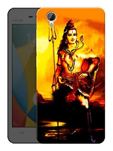 """Ulta Anda Shiva - Hindu god Printed Hard Cases Designer Mobile Back Cover for"""" Vivo Y51L - Vivo Y51"""""""