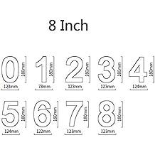 Molde para tarta con números en 3D, herramienta para repostería, letras grandes y prácticas