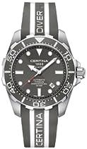 Certina Herren-Armbanduhr XL Analog Automatik Kautschuk C013.407.47.081.01