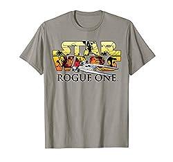 Star Wars Rogue One U-Wing Logo Graphic T-Shirt