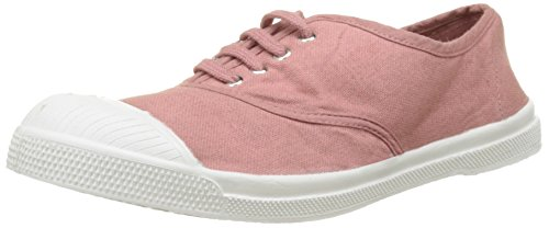 bensimon-tennis-lacet-baskets-basses-femme-rose-vieux-rose-39-eu