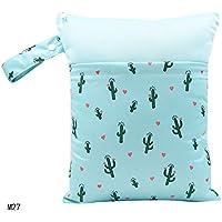 Baby Nappy Organiser Tote Bag Wet//Dry Waterproof Bag 39x29cm Arrows