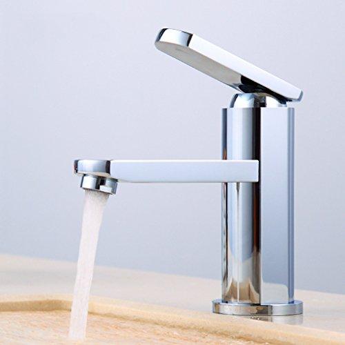 Tout cuivre chaud et Bassin d'eau froide robinet robinet de bain Taipen salle de bains Cabinet Robinet Lavabo