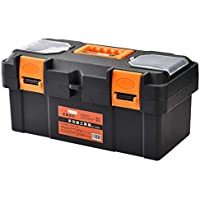 Cassetta degli attrezzi Caja plástica del coche multifuncional del hardware de la caja de herramientas del hardware del hogar 17 pulgadas