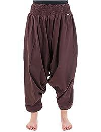- Pantalon sarouel elastique uni aladin sarwel indien -
