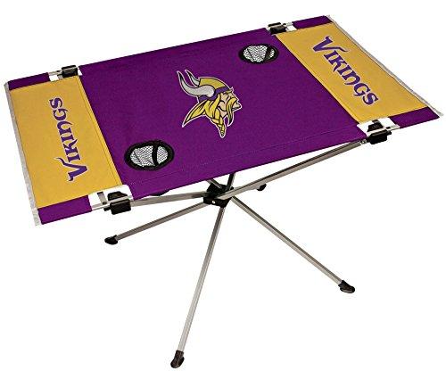 "Jarden Sports Licensing NFL Endzone Tisch, groß/80x 52,6x 48,3cm, Unisex, LP0339, Purple-Minnesota Vikings, Large/31.5\"" x 20.7\"" x 19\"""