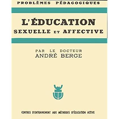 L'education sexuelle et affective