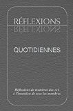 Réflexions Quotidiennes: Réflexions de membres des AA à l'intention de tous les membres