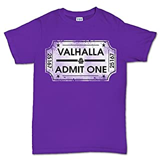 Ticket To Valhalla Vikings Norsk T shirt