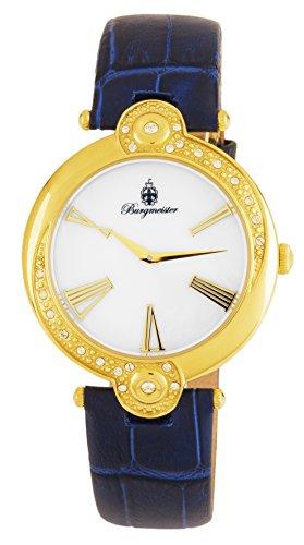 Burgmeister Women's Analogue Quartz Watch with Leather Strap BM811-283