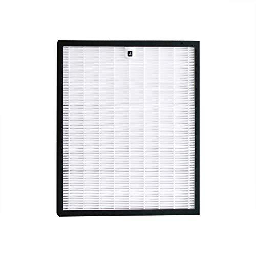 Altsommer Ersatzfilterset für Philips AC4025, Luftreiniger Zubehör HEPA Filter Aktivkohle-Filter, Einsetzbar Statt, Hemmung von Bakterien | AC2887, AC2882 AC3829 - Aktivkohle-filtration