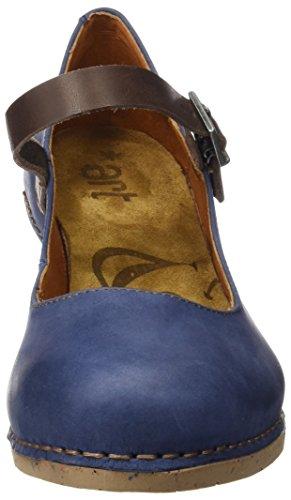 ART 1113 Olio I Laugh, Escarpins à Bout Fermé Femme Bleu (Blue)