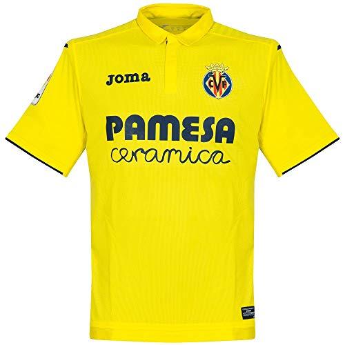 Camiseta Villarreal CF Home 2017-2018 Amarillo Talla