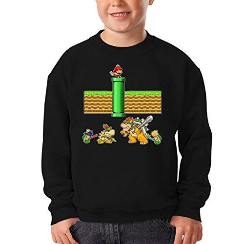 Sudadera Videojuego - Parodia de Super Mario Bros (469)