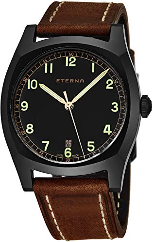 ETERNA MEN'S HERITAGE MILITARY LIMITED EDITION 1939 40MM WATCH 1939-43-46-1299