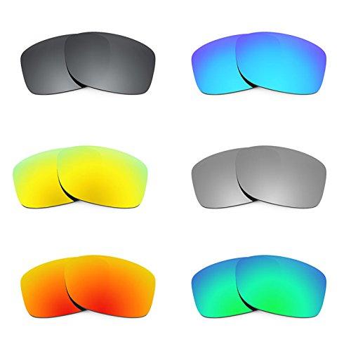 Revant Ersatzlinsen für Oakley Jupiter Squared Polarisiert 6 Paar Kombipack K025