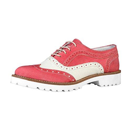 Ana Lublin Damen Marina Schuhe Rot / Weiß