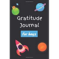 Gratitude Journal for boys: Notebook Diary Record for Children Boys to Writing and Practicing for Develop Positive Thinking - This Journal helps kids ... Rocket Moon (Gratitude Journal for Kids)