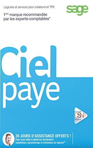 Ciel Paye 2016 (-20 salariés) [Téléchargement PC]
