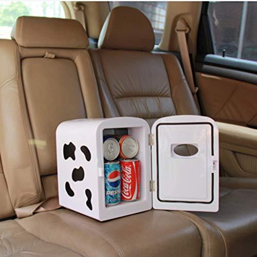 LXD Energiesparende kleine Kühlschrank Mini Ultra-Small Home Schlafsaal Auto 4L 12V220-240Vmini Kühlung Hitzebewahrung Muttermilch Drug Freezer,4L - Angel Men Deodorant