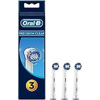 Oral-B Precision Clean Testine di Ricambio per Spazzolino Elettrico, Confezione da 3 Pezzi
