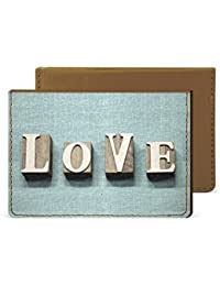 Love Blocks Credit Card Wallet By Robobull